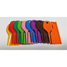 Značkovacie krúžky plastové 2,5mm -  10ks